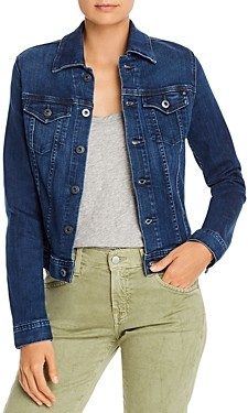 AG Jeans Robyn Fitted Denim Jacket