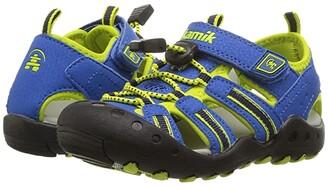 Kamik Crab (Toddler/Little Kid/Big Kid) (Blue) Kids Shoes
