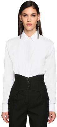 Saint Laurent Classic Cotton Poplin Shirt