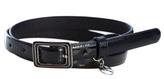 Armani Exchange Patent Skinny Belt Online Exclusive