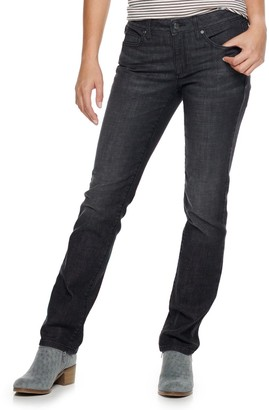 Sonoma Goods For Life Women's SONOMA Goods for Life Supersoft Midrise Straight-Leg Jeans