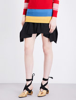J.W.Anderson Asymmetric mid-rise linen skirt