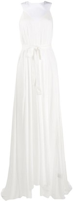 Ann Demeulemeester Sleeveless Long Gown