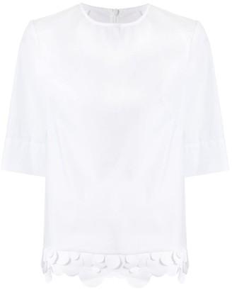 PASKAL clothes circle hem T-shirt