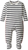 Junior Gaultier Striped Footie Kid's Jumpsuit & Rompers One Piece
