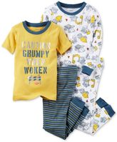 Carter's 4-Pc. Construction Cotton Pajama Set, Baby Boys (0-24 months)