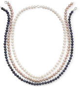 JCPenney FINE JEWELRY 3-Pc. Cultured Freshwater Pearl Strand Necklace Set
