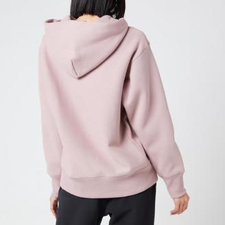 Champion Women's Large Script Hooded Sweatshirt