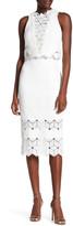 Rebecca Taylor Dia Lace Pencil Skirt