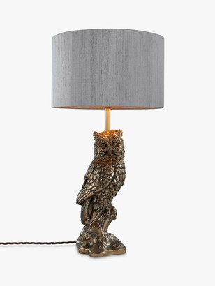 David Hunt Owl Table Lamp, Bronze