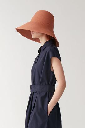 Cos Wide-Brim Straw Hat