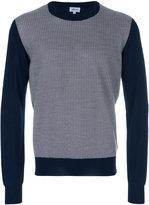 Brioni contrast sleeve sweater