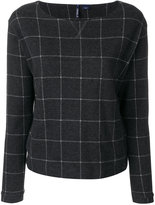 Woolrich checked blouse