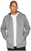 Columbia Hart Mountaintm Full Zip Hoodie (Charcoal Heather/Collegiate Navy) Men's Sweatshirt