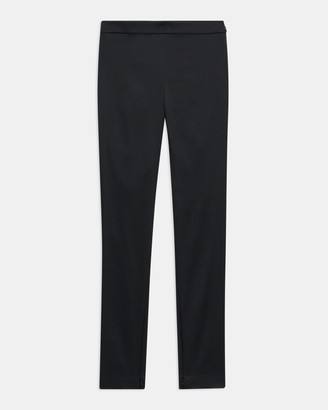 Theory High-Waisted Legging in Stretch Satin