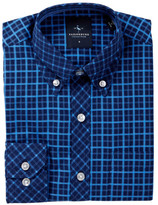 Tailorbyrd Woven Delft Blue Dress Shirt (Big Boys)