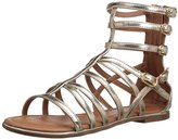 Nina Octavia Back Zip Sandal (Little Kid/Big Kid)