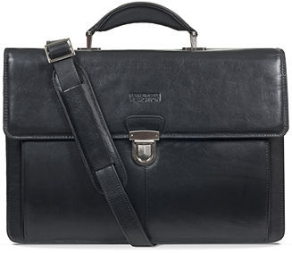 Kenneth Cole Reaction Leather Rio Double Gusset Briefcase