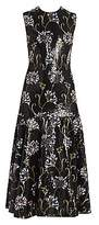 Giambattista Valli Women's Floral Sequin-Embroidered Midi Dress