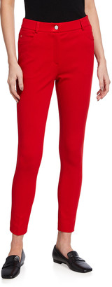 Akris Punto Maren Slim-Leg Jersey Pants