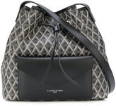 Lancaster envelope pocket bucket bag - women - Leather - One Size