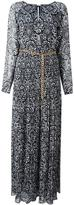 MICHAEL Michael Kors abstract print long dress