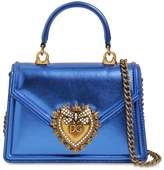 Dolce & Gabbana MINI DEVOTION LAMINATED LEATHER BAG