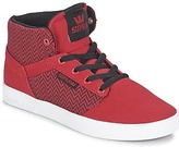Supra KIDS YOREK HI RED / Herringbone / White