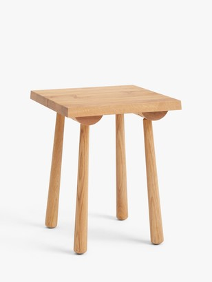 John Lewis & Partners Seam Side Table, Oak