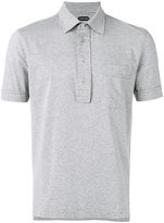 Tom Ford slim fit polo shirt - men - Cotton - 50