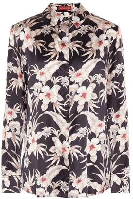 Altuzarra Chika floral stretch-silk shirt