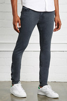 Forever 21 FOREVER 21+ Clean Wash Slim-Fit Jeans