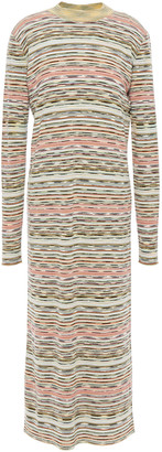 Missoni Marled Ribbed Wool Midi Dress