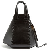Loewe Hammock small leather tote
