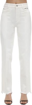 Stella McCartney High Waist Cotton Denim Jeans