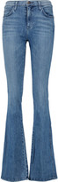 Current/Elliott The Low Bell High-Rise Flared Jeans