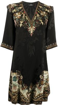 Etro Jacquard Print Dress