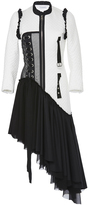 J.W.Anderson Cotton Quilt Blend Dress with Ribbon Detail