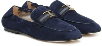 Tod's Timeless suede loafers