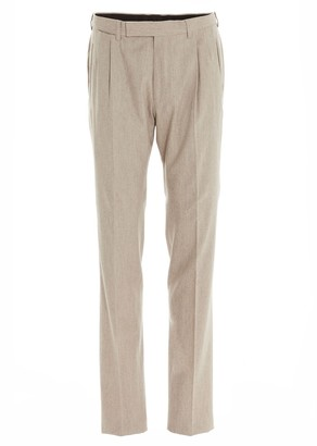 Ermenegildo Zegna Tailored Pleated Trousers
