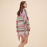 Maje Multi-coloured knit cardigan