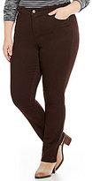 Code Bleu Plus Gwen Straight Leg Jeans