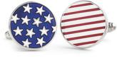 Johnston & Murphy Stars & Stripes Cufflinks