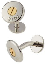 Dunhill Palladium Bicolor Screw Cuff Links