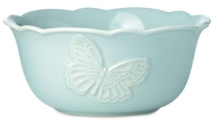 Lenox Butterfly Meadow Carved Collection All-Purpose Bowl