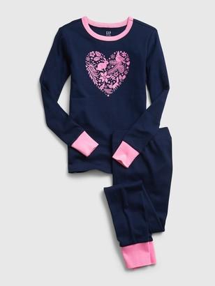 Gap Kids Heart Graphic PJ Set