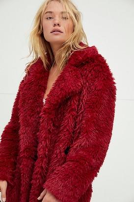 Free People Evys Faux Fur Coat