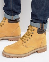 Jack and Jones Stoke Warm Lining Nubuck Boots