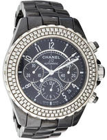 Chanel Diamond J12 Chronograph Watch