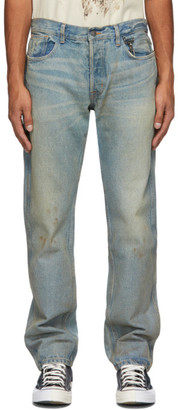 Reese Cooper Blue Washed Jeans